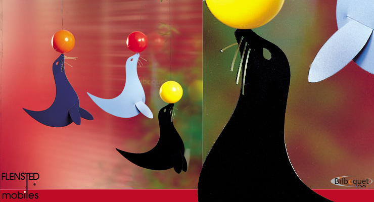 Sea-lion mobile Flensted Mobiles