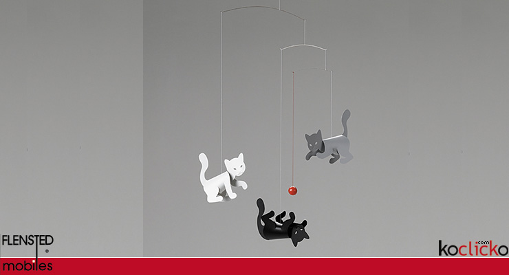 Kitty cats mobile Flensted Mobiles
