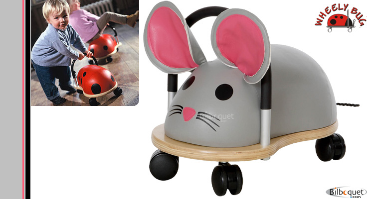Mouse ride-on toy - Large Size Wheely Bug