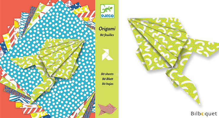 Origami papers Design by Barbouille Djeco