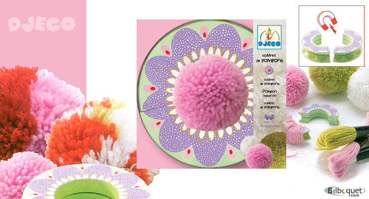 Pompom Maker Kit Djeco