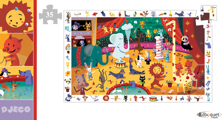 Circus 35 pieces Djeco