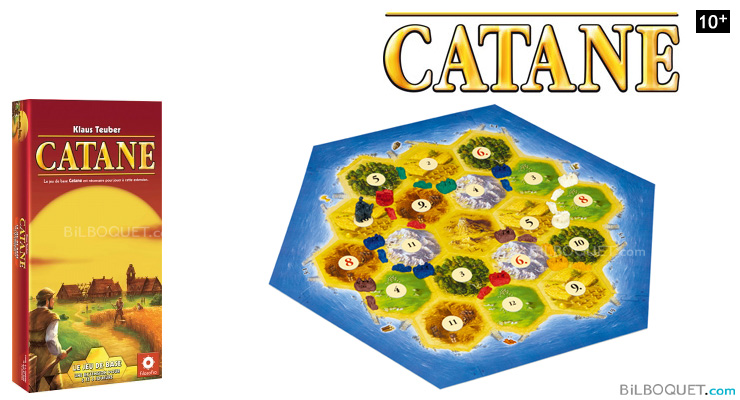 Catane 5 & 6 players expansion for the Settlers of Catan Filosofia