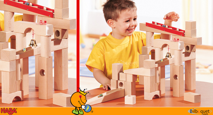 Ball track set Haba