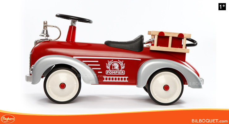 Fireman ride on toy Baghera