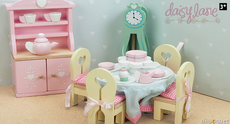 Daisylane Drawing Room - Furniture for Dollhouses Le Toy Van