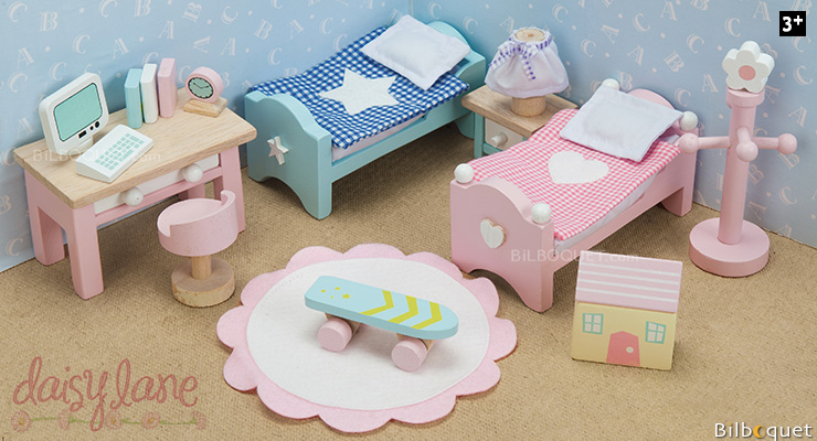 Daisylane Children's Room - Furniture for Dollhouses Le Toy Van