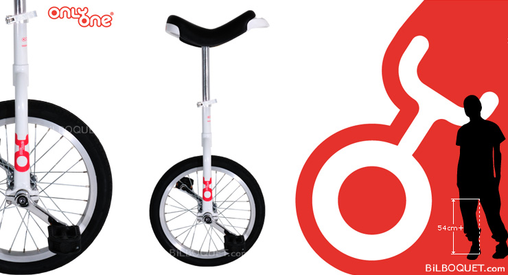 OnlyOne Unicycle Ø40cm (16 inches) white Only One