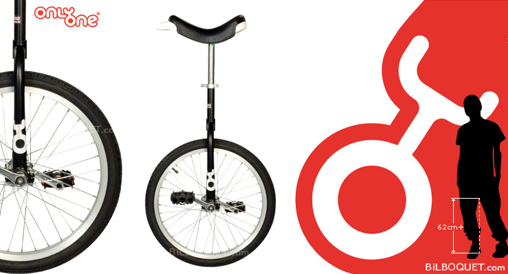 OnlyOne Unicycle Ø50cm (20 inches) black Only One