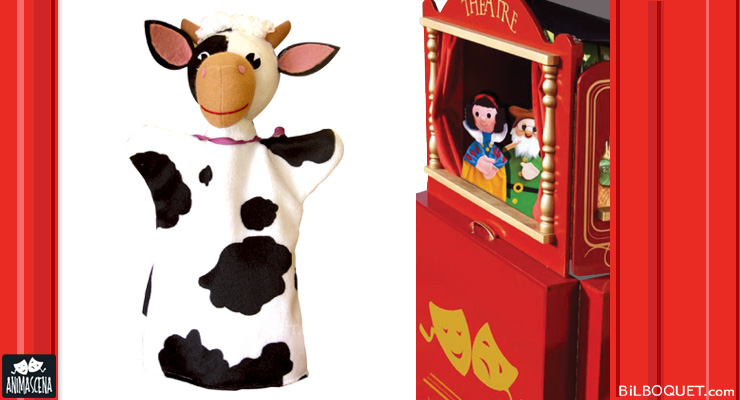 Cow puppet Anima Scena