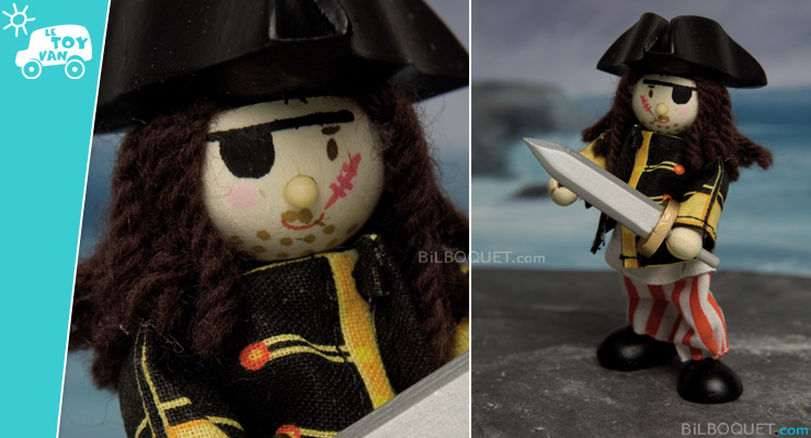 Eye patch pirate Le Toy Van