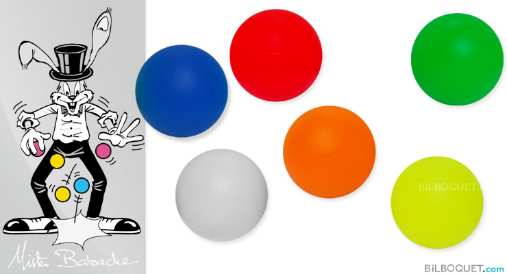 Bounce juggling ball Ø63mm color Mister Babache