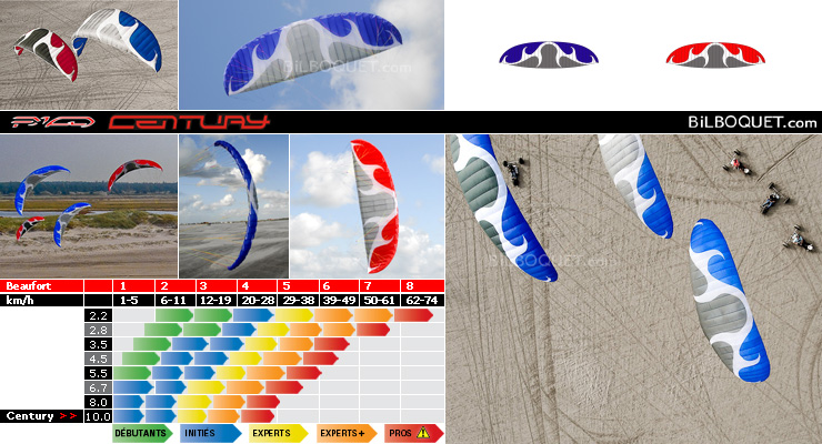 Century Soulfly II - Power Kite 10m PKD Intl. kites