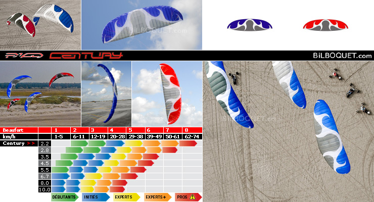 Century Soulfly II - Power Kite 2,2m PKD Intl. kites