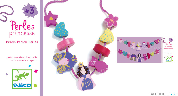 Princess beads Djeco