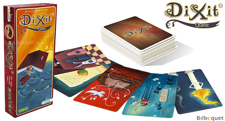 Dixit 2 Quest - Expansion for Dixit Libellud