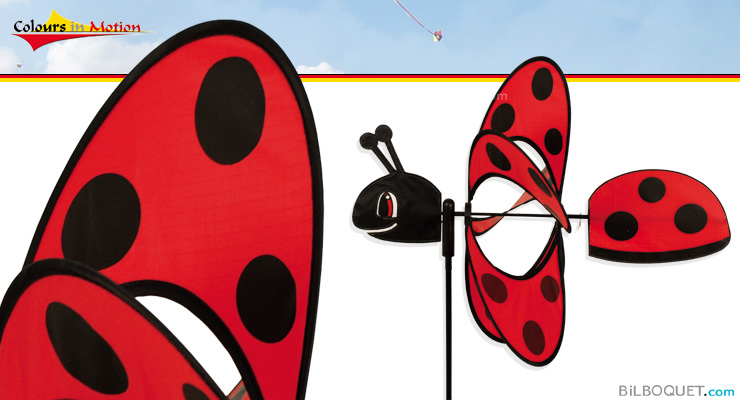 Eolienne Coccinelle Magic Ladybird Colours in Motion