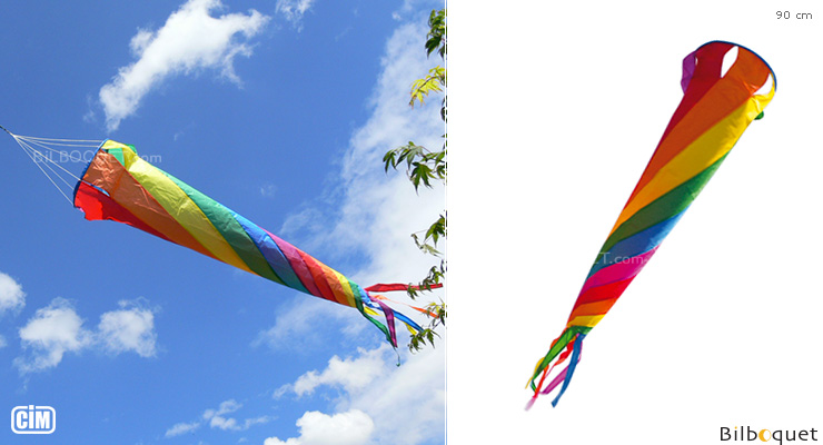 Rainbow Spinsock 90cm - Windgame Colours in Motion