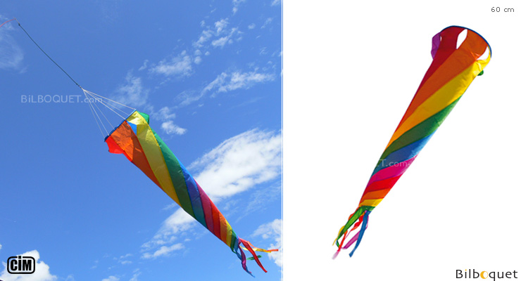Rainbow Spinsock 60cm - Windgame Colours in Motion
