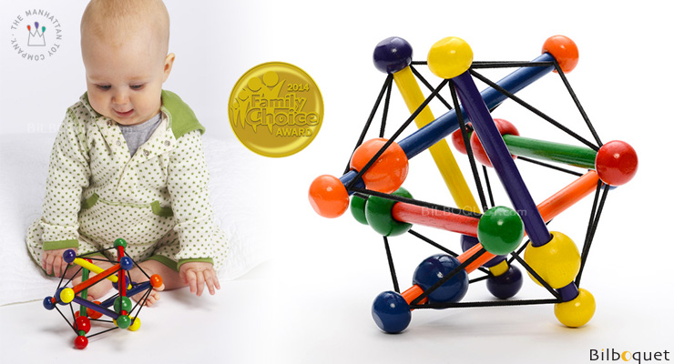Skwish Classic Rattle Toy Manhattan Toy