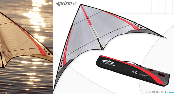 4-D ultra-light stunt kite Red Prism Kites