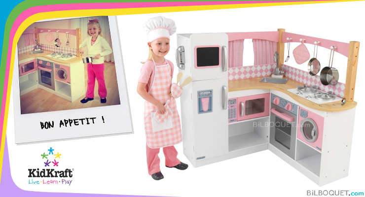 Grand Gourmet Corner Kitchen KidKraft
