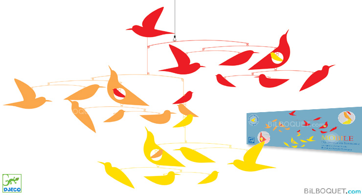 Mobile Des oiseaux en harmonie Little Big Room by Djeco