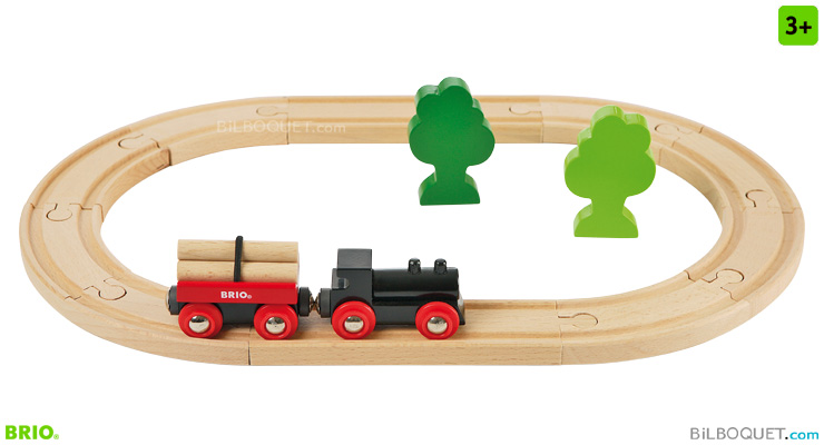 Little Forest train starter set 18 pieces BRIO