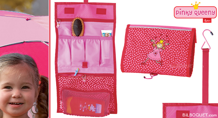 Sigikid - 23316 - Fourniture Scolaire - Pinky Queeny - Trousse de Toilette