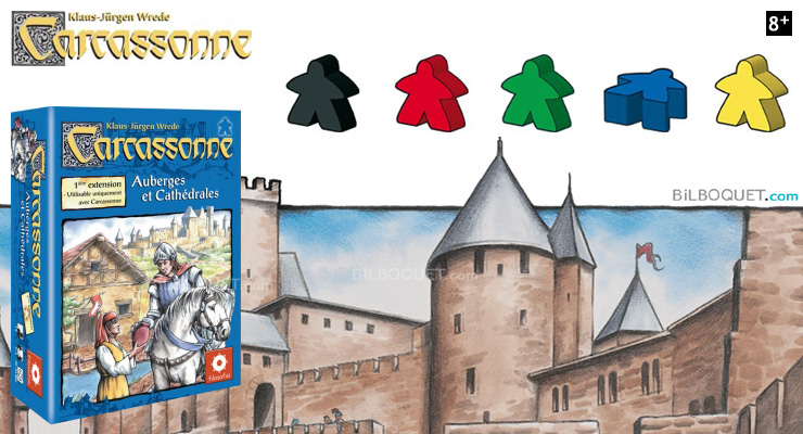 Inns and Cathedrals expansion for game Carcassonne Filosofia