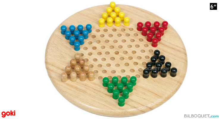 Chinese checkers Goki