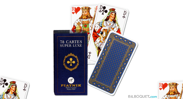 Set of 78 Tarot cards Super Luxe Piatnik