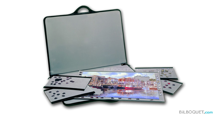 Puzzle carry-case and sort trays Jigsort 91x66 cm