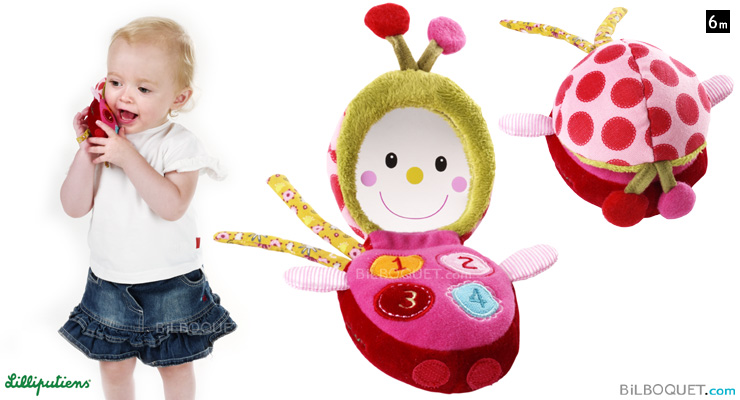 Lizophone toy phone Lilliputiens