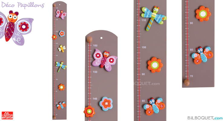 Butterfly Height Chart Le Coin Des Enfants