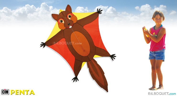 Flying Squirrel Single-line Penta kite Colours in Motion
