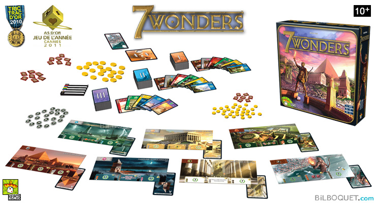 7 wonders Strategy Game Repos Production