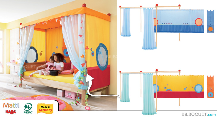 Matti Canopy bed upgrade kit Haba