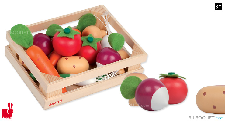 12 Vegetables Crate Janod