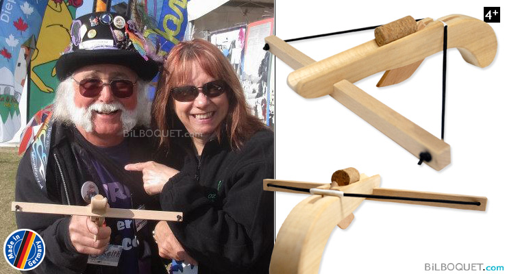 Wooden Crossbow  with cork