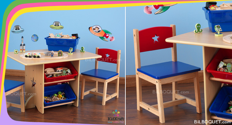 Star Table & Chair Set KidKraft