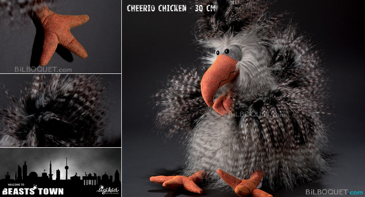 Cheerio Chicken Bird Beast 30 cm Sigikid