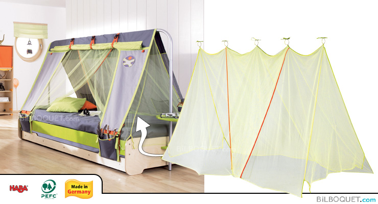 Mosquito net for Terra Kids Bed Haba