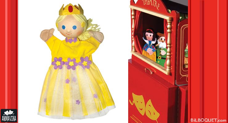 Yellow Princess Puppet Anima Scena