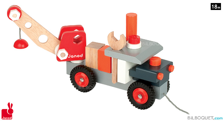 Bricolo Truck With Crane Janod