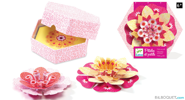 Petals and Pistils pink Design by Flip Flop Design Djeco