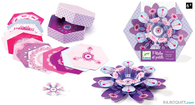 Petals and Pistils purple Design by Flip Flop Design Djeco
