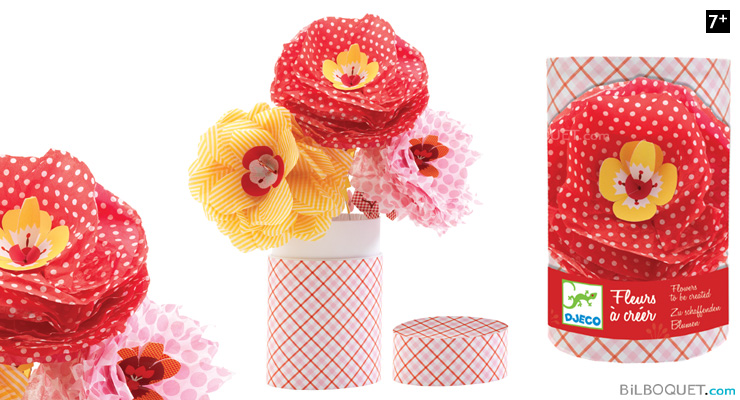 Flower making kit Betty Design by Flip Flop Design Djeco
