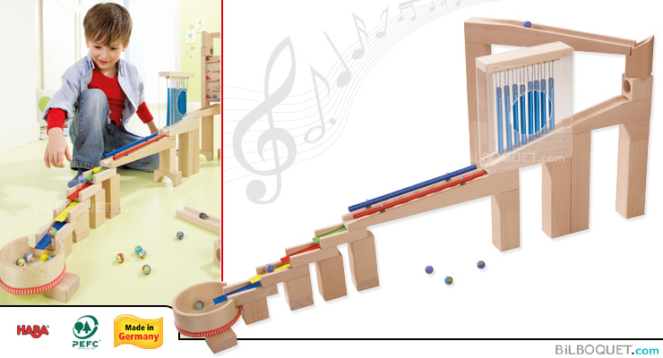 Ball track Sounds Starter set Haba