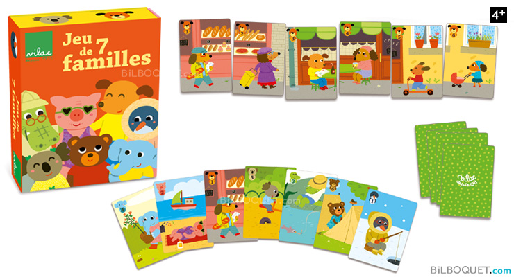 Mélusine 7 Family Game Vilac